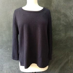 ISELA | Bell sleeve rayon knit sweater Size Large